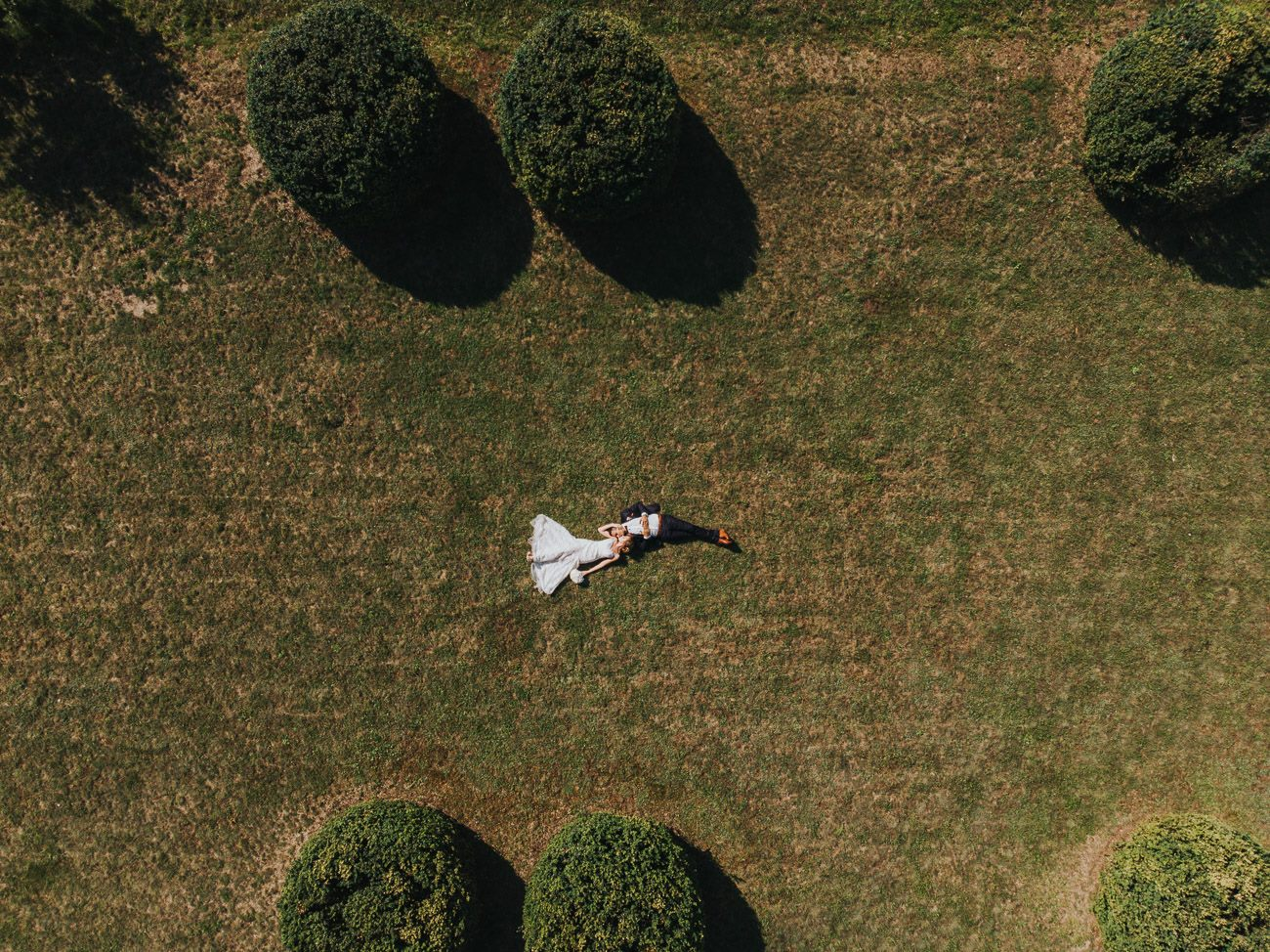 сватбена фотосесия врана